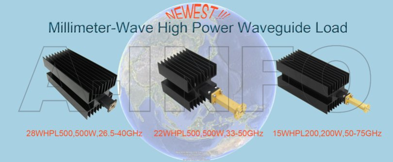 Ainfo Newest Milimeter-Wave High Power Waveguide Load